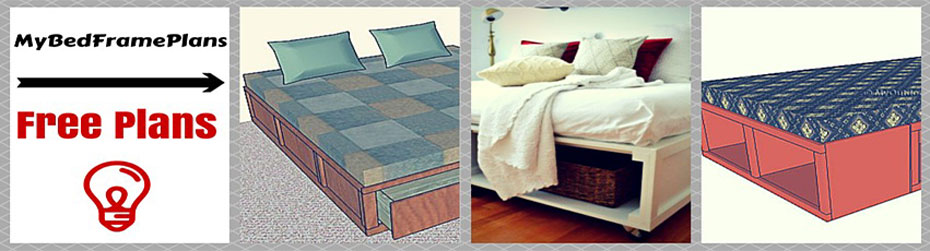 Free Bed Frame Plans – How to build a bed frame